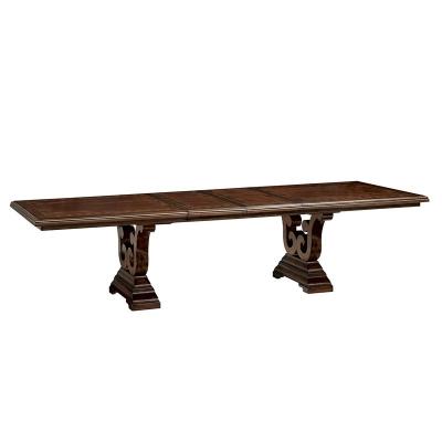 Fine Furniture Design Trestle Dining Table