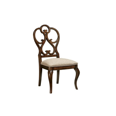 Fine Furniture Design Scroll Dining Side Chair