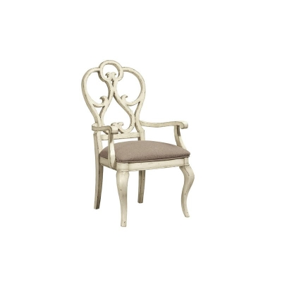 Fine Furniture Design Scroll Dining Arm Chair