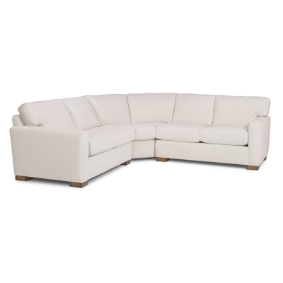 Flexsteel B3399 Sect Bryant Leather Sectional Discount