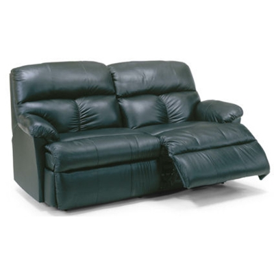 Flexsteel 3098 61 Triton Leather Studio Reclining Sofa
