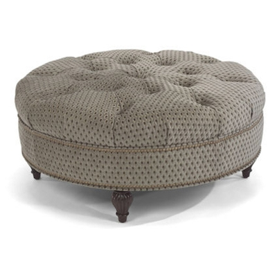 Flexsteel Cocktail Ottoman with nails