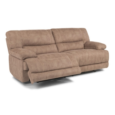 Flexsteel Fabric Power Reclining Sofa