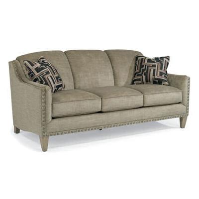 Flexsteel 5678 31 Garner Fabric Sofa Discount Furniture At