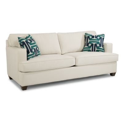 Flexsteel Fabric Two Cushion Sofa