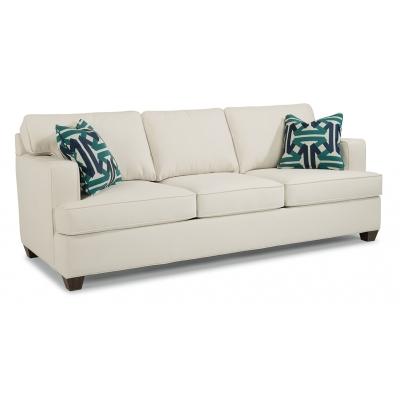 Flexsteel Fabric Three Cushion Sofa