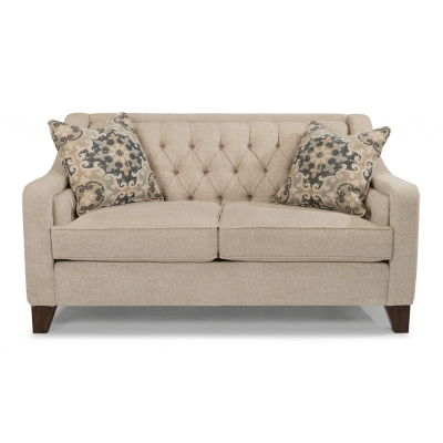Flexsteel Fabric Loveseat