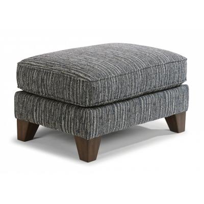 Flexsteel Fabric Ottoman