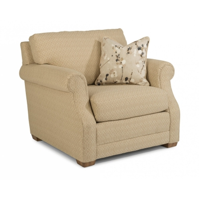 Flexsteel Fabric Chair without Nailhead Trim