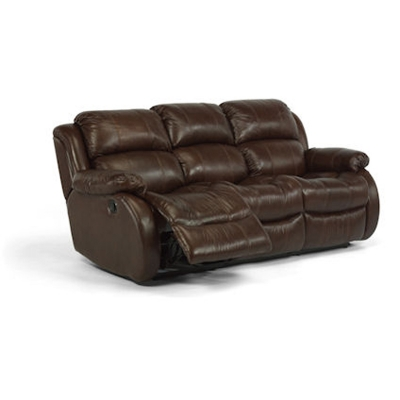 Flexsteel 1206 62 Brandon Double Reclining Sofa Discount Furniture At