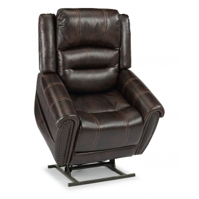 Flexsteel Power Lift Recliner with Right Hand Control and Power Headrest
