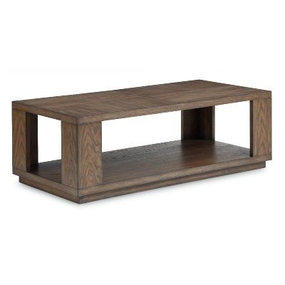 Flexsteel Rectangular Coffee Table with Casters