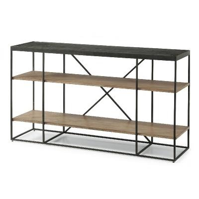 Flexsteel Sofa Table with Shelving