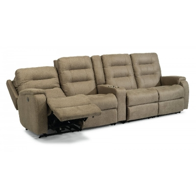 Flexsteel Power Reclining Sectional