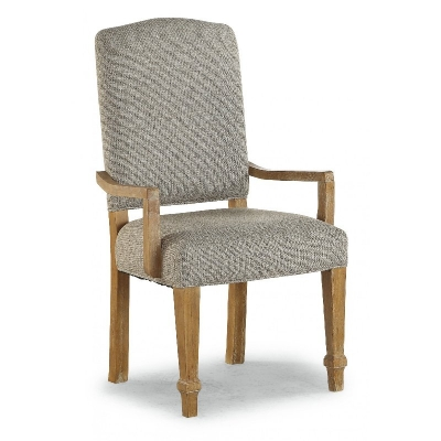 Flexsteel Upholstered Arm Dining Chair