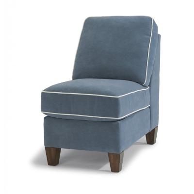 Flexsteel Leather Armless Chair