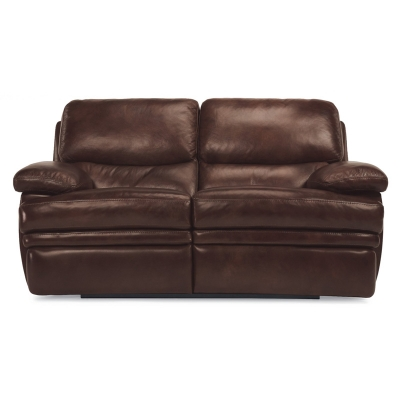 Flexsteel 1127 60 Dylan Leather Non Chaise Reclining