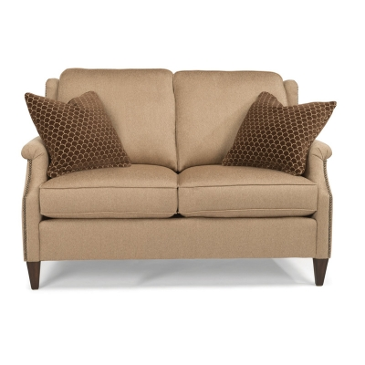 Flexsteel 5633 20 Zevon Fabric Loveseat Discount Furniture