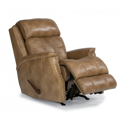 Flexsteel 1246 510 Timmons Leather Rocking Recliner