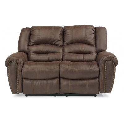 Flexsteel 1410 60 New Fabric Reclining Loveseat Discount