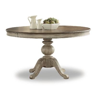 Flexsteel Round Pedestal Dining Table