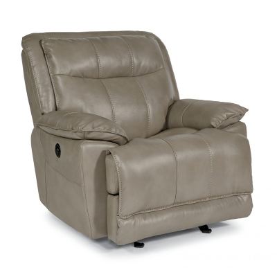 Flexsteel Fabric Power Gliding Recliner
