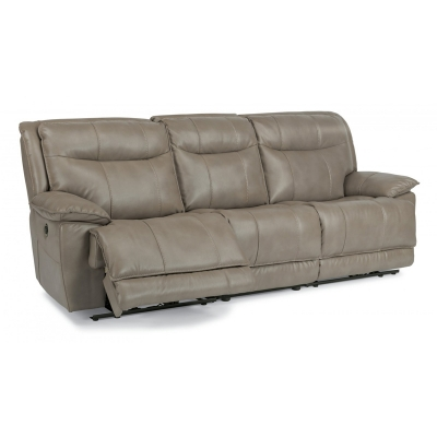 Flexsteel Fabric Power Reclining Sofa