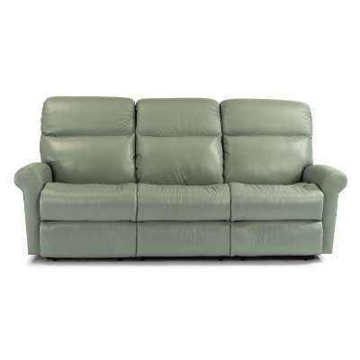 Flexsteel Leather Reclining Sofa