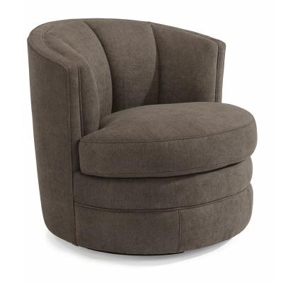 Flexsteel Fabric Swivel Chair