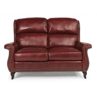 Flexsteel Leather or Fabric Loveseat