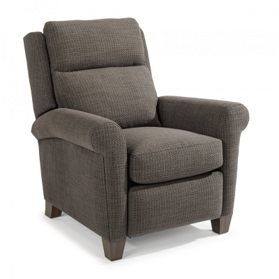 Flexsteel Fabric Power High-Leg Recliner