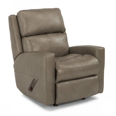 Flexsteel 3900 53 Catalina Leather Swivel Gliding Recliner