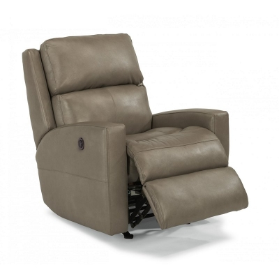 Flexsteel 3900 50m Catalina Leather Power Recliner Discount Furniture At Hickory Park