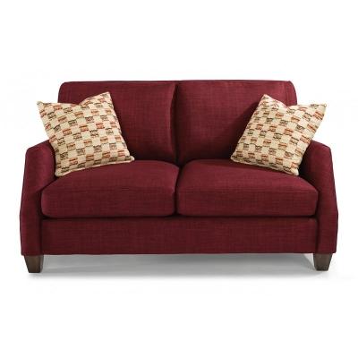 Flexsteel 5116 20 Gina Fabric Loveseat Discount Furniture