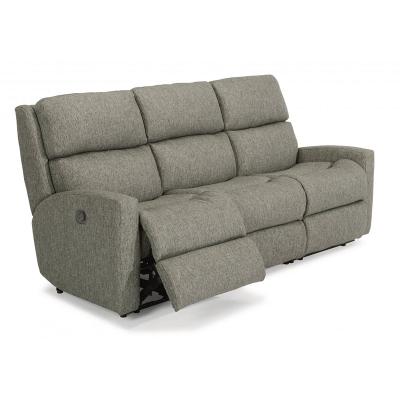 Flexsteel Fabric Reclining Sofa