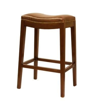 Furniture Classics Limited Leather Barstool