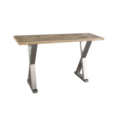 Furniture Classics Limited Stainless Crossleg Console
