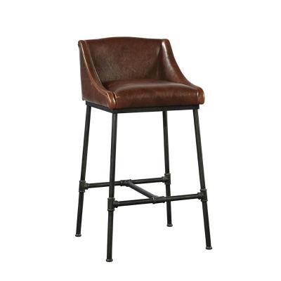 Furniture Classics Iron Pipe Bar Stool