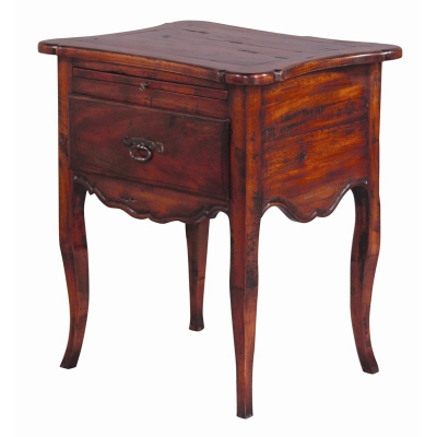 Furniture Classics Rochelle Side Table with Plank Top