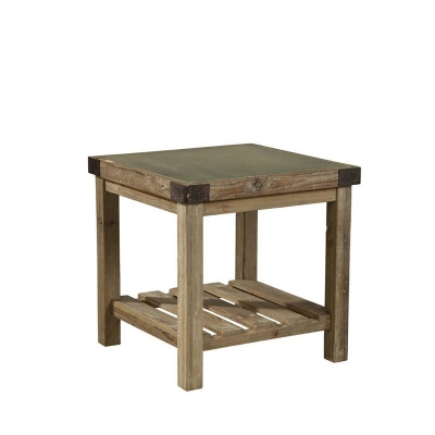 Furniture Classics Graystone Top Side Table