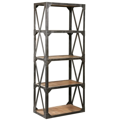Furniture Classics Bleecker Recycled Narrow Bookcase