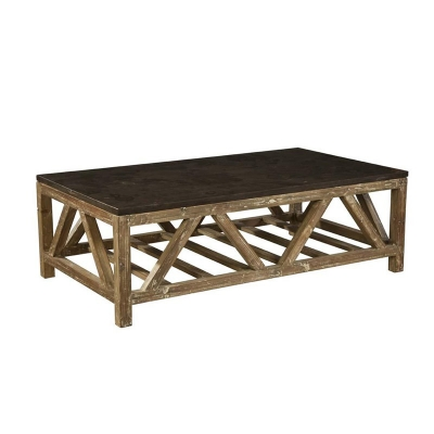Furniture Classics Old Fir and Bluestone Coffee Table