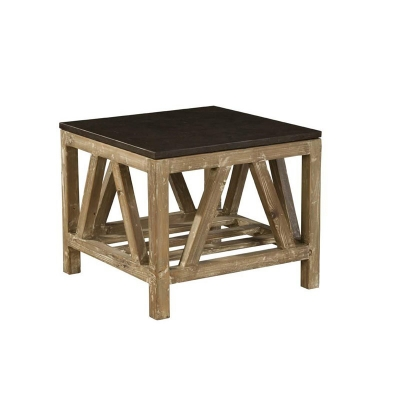 Furniture Classics Old Fir and Bluestone Side Table