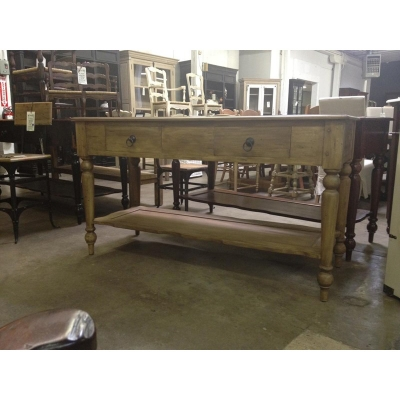 Furniture Classics Zinc Top Work Table