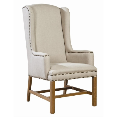 Furniture Classics FC Accents Linen Host Chair