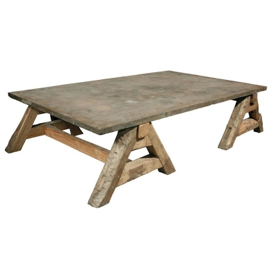 Furniture Classics Coffee Table with Old Stone