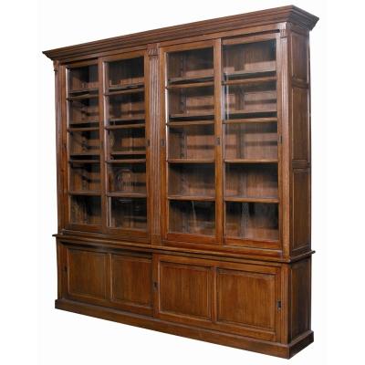 Furniture Classics Double Slide Door Euro Hutch Cabinet