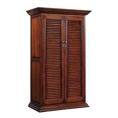 Furniture Classics Louvered Door Cabinet
