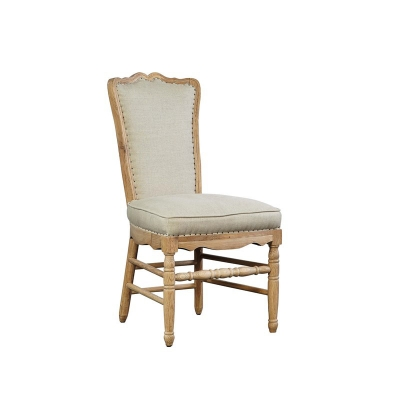 Furniture Classics Side Chair with Fabric Back