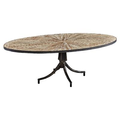 Furniture Classics Oval Coffee Table